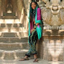 leggings bohemios Rebajas Pantalones harem mujeres boho dress pierna suelta colorvalue polainas playa de verano pantalones bohemios floral impreso pantalones de yoga india # 1011390
