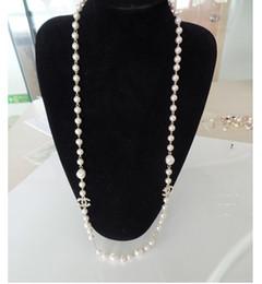 Doni d'alfabeto online-Hot nuova personalità ciondolo perla di accessori moda alfabeto inglese collana del partito regalo gioielli