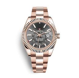 Роскошные швейцарские часы автоматические механические мужские часы спортивные военные розовое золото из нержавеющей стали мужские часы 326933 326934 326935 Orologio cheap mechanical swiss watch men от Поставщики механические швейцарские наручные часы