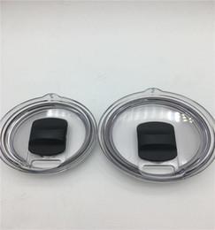 NUOVI coperchi sigillanti in silicone per tazze da 30 20 oz Coperchi in plastica per coperchio in paglia 30 coperchi di protezione in plastica anti-fuoriuscite da