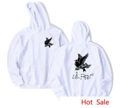 suéter mujer pájaro Rebajas Patrón de pájaro de golondrina llorosa Lil Peep Imprimir sudadera con capucha Hombres Mujeres Hip Hop Sudaderas con capucha High Street Loose Tops Sweater