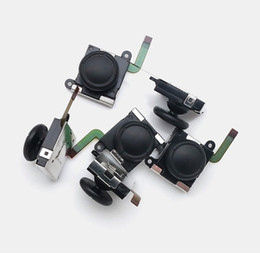 Аналоговые коммутаторы онлайн-3D Аналоговая джойстик Клавиша-джойстик Аналоговые джойстики Контроллер Замена джойстика для Nintend Switch NS Joy-Con W / Flex Cable