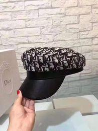 2019 boina de los hombres de moda Sombrero de copa sombrero de lujo del polo curva deportes boina de la nueva manera caliente de alta calidad superior de los hombres de las mujeres del sombrero boina de los hombres de moda baratos