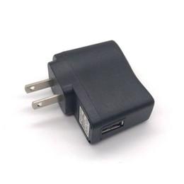 adaptateur de chargeur de voyage en gros Promotion Vente en gros 5V 1A US / EU USB Chargeur mural chargeur de voyage adaptateur secteur adaptateur mini chargeur USB pour iphone 7 8 X Samsung Smartphones