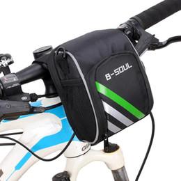 Горный велосипед Руль Передняя сумка Электрический велосипед сумки на ремне, Складная ручка бар Открытый езда от