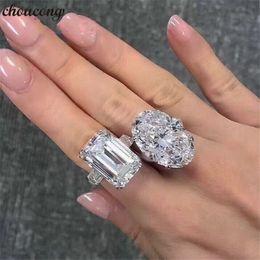 2019 echter 925 sterling silber verlobungsring choucong luxus versprechen ring echt 925 sterling silber diamant verlobung hochzeit band ringe für frauen edlen schmuck rabatt echter 925 sterling silber verlobungsring