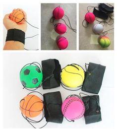 2019 pas cher bas prix 5 Style Fun Toys Bouncy Fluorescent Caoutchouc Ball Poignet Bande De Jeu De Plateau Drôle Élastique Ball Formation Antistress ? partir de fabricateur