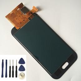 2020 schermo dell'acciaio a galassia Può Luminosità Regolabile Per Samsung Galaxy J1 Ace J110 J110F J110H Touch Screen + Display LCD Monitor Assemblaggio + Strumenti Gratuiti sconti schermo dell'acciaio a galassia