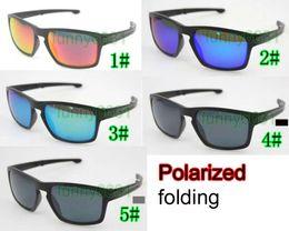 2019 faltende sonnenbrille polarisiert Sommer Mann polarisierte Sport radfahren Brillen falten Frauen Fahren Brillen Reiten Blenden Sonnenbrillen Wind Blenden Sonnenbrillen UV400 Freies Verschiffen günstig faltende sonnenbrille polarisiert
