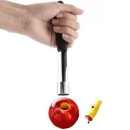 2019 mele di mele Easy Core Remover Acciaio inossidabile Apple Corer Grado commerciale in metallo Premier per utensili per torsioni utensili da taglio CCA11222 50 pezzi sconti mele di mele