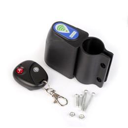 Système de verrouillage sans fil en Ligne-Verrouillage d'alarme de vélo sans fil avec télécommande Système de sécurité anti-vol - Verrouillage d'alarme de vélo électrique B2Cshop # 286578