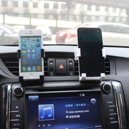 2019 kühlerentlüftung WUPP Autohalterung Für Iphone Für Samsung Stehen Unterstützung Handyhalter Universal Kunststoff Air Vent Mount Kühlung dropship 19F21 günstig kühlerentlüftung