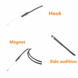 2019 cable de la cámara de inspección de vídeo 5.5mm Dia Cable USB endoscopio Cmos Impermeable 6-led Boroscopio Endoscopio Tubo de inspección Cámara visual Cobre Tubería Video rebajas cable de la cámara de inspección de vídeo