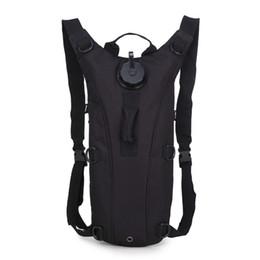 mochila de hidratación bolsa Rebajas Bolsa de agua de 3L, Mochila de hidratación táctica Molle, Camelback para acampar al aire libre, Bolsa de vejiga de agua de camello de nylon para ciclismo