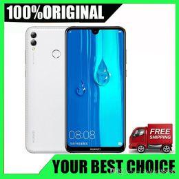 2019 telefones celulares india Huawei Enjoy Max 4GB de RAM 64G / 128GB ROM Snapdragon 660 Octa core Câmera traseira dupla 7.12 polegadas 5000mAh Cell Phone telefones celulares india barato