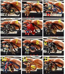 ударное кольцо Скидка 98styles Marvel Thor Hammer Мстители Mjolnir рисунок автомобиль брелок стайлинга автомобилей кошелек сумка рюкзак брелки подвеска аксессуары для автомобилей 190426