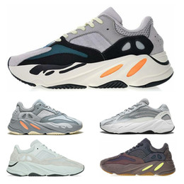 huge selection of 39eae 5d5f0 Adidas yeezy 700 shoes 2019 Luxury 700 Runner Kanye West Wave Scarpe da  corsa 700 V2 Mens Women Athletic Scarpe sportive Trainer Sneakers Scarpe  Eur 36-45 ...