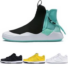 мужская повседневная обувь Скидка Новый Abyss Diamond Supply Co. x Вязаная обувь для коньков Черно-белая повседневная модная обувь Мужская лодыжка Обучение SB Dunk Кроссовки Женская спортивная обувь