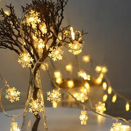 Levou pequeno luz noturna plug on-line-plug-in 10M100LED do floco de neve luz da corda estrela da noite luz do partido decoração de Natal pingente levou corda pequena luz colorida