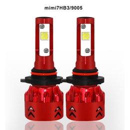 2019 hb4 led scheinwerfer Neuester Scheinwerfer des Auto-Mini7 H7 LED H4 H8 / H9 / H11 HB3 / 9005 HB4 / 9006 9007 H3 H1 880 Birnen-Selbstvordernebel-Birnen-Automobil-Scheinwerfer rabatt hb4 led scheinwerfer