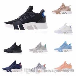 separation shoes e78f7 59b2b 2019 Comercio al por mayor de Moda EQT Cushion Europe Exclusivo 91-17  zapatos para hombre Negro blanco Mujeres Equipo Zapatillas de deporte al  aire libre . ...