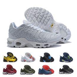 2019 de calidad superior Wmns Plus Tn Se para hombre Zapatillas de deporte de moda Barato Negro Naranja Blanco Amarillo Azul Paquete de zapatillas de deporte Zapatillas Zapatillas desde fabricantes