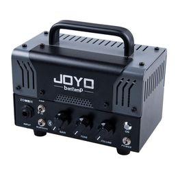 Accesorios para altavoces online-JOYO Bajo Eléctrico Guitarra Amplificador Tubo Altavoz Monstruos pequeños banTamP 20W Preamplificador AMP Accesorios de Guitarra Instrumentos Musicales