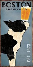 bebiendo pintura de bar Rebajas 14 estilos de Metal Cartel de chapa Pintura Retro Cartel de Hierro Vintage Craft Pub Signos Arte de la pared fotos Etiqueta Plaque Cafe Bar decoración del hogar 20 * 30 cm