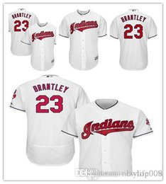 ab6e38821 Men's Indians 23 Michael Brantley Majestic White Home Cool Base Player  Replica Cleveland women kids Jersey