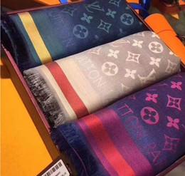 Argentina Bufanda de seda de lana caliente Pashmina moda patrón de flores mujeres Mens cachemira de seda bufandas bufandas envuelve alta Qualtiy Size140x140cm regalo Suministro