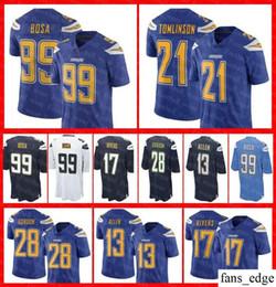 Mens Women Youth Los Angeles Jersey 99 Joey Bosa 17 Philip Rivers Melvin  Gordon 21 LaDainian Tomlinson Chargers Color Rush Football jerseys 1bdb659cc