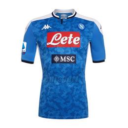napoli jersey Rabatt 2019/20 SSC Napoli Trikots Manolas Hamsik Mertens Insigne Fußball Neapel Fußball Trikots Trikots Maillot Maglia