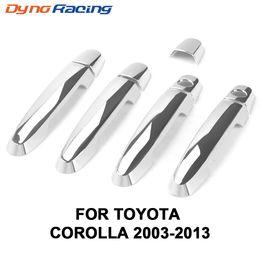Housse toyota rav4 en Ligne-Garniture de cache de poignée de porte en chrome ABS pour Corolla 2003-2013 / Toyota Camry 2002-2006 / Rav4 2001-2008 / Vios pour Yaris