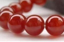 pedras de jade vermelhas soltas Desconto FRETE GRÁTIS + + NEW 8mm Red jóias de pedra Solta Pérola 15