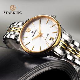 relógio automático feminino Desconto STARKING Relógios Mulheres Moda Assista 2018 Aço Inoxidável Mecânico Automático Relógios de Pulso Elegante Feminina de Ouro Ladies Watch