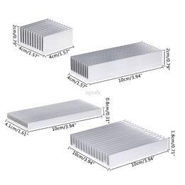 Экструдированный алюминиевый радиатор для мощных светодиодных микросхем охладителя радиатора теплоотвода от Поставщики охладители intel cpu