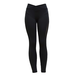 women fitness models Coupons - European And American Style Hot Models Ladies' Polyester Material Hot Fashion Leggings Yoga Sports Fitness Pants