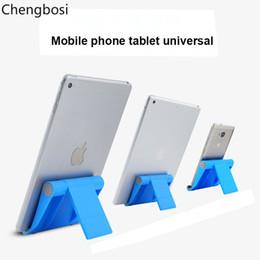 2019 soporte de teléfono celular de plástico Soporte de escritorio de soporte de teléfono celular de mesa plegable universal para sus soportes de soporte de tableta rebajas soporte de teléfono celular de plástico