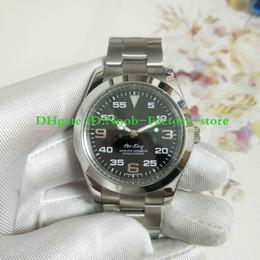 Настоящие часы онлайн-Real Shoot Luxury Air KING 116900 3 6 9 39 мм черный циферблат Азиатский 2813 механизм с автоподзаводом нержавеющая сталь Сапфир мужские часы