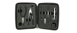 Kit d'outils premium en Ligne-VIVISMOKE PREMIUM outil vape DIY KIT Nouveau vapeTool Kit Pour RDA RBA atomiseur reconstruction de Vape Mod DHL gratuite