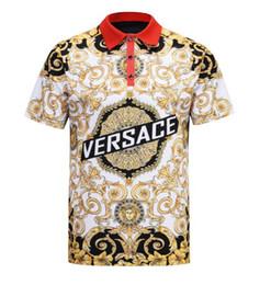 Printemps 2019 nouvelle chemise italienne de grande qualité T-shirt designer Polo shirt brodé jarretelles porte-jarretelles marque méduse vêtements pour hommes ? partir de fabricateur