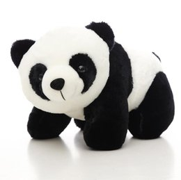 niedlicher plüsch gefüllter panda Rabatt Panda form plüschtier neue mode niedlichen weichen kuscheltiere puppe dekoration neue niedliche plüschtiere kinder playmate lxl297