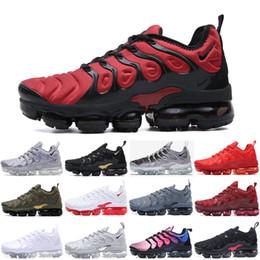foto läuft Rabatt Nike Air TN Plus 2020 neuen TN-Plus-Men Laufschuhe Triple Black Weiß Sonnenuntergang Foto Blue Wolf Grau USA Schuhe Sport Sneakers Schuhe