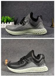 Precios de los zapatos de futbol online-bajo precio LTD 4D Gris Zapato mujer balón de fútbol zapatos hombre babysbreath AlphaEdge 4d Tecnología original de impresión de zapatillas zapatillas runnig con lo