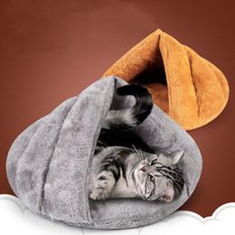 2019 coniglio di stuoia Gatto Letto Morbido Cat House Pet Mats Cuscino Cucciolo Coniglio Letto Divertente Pet Products 2019 Spring Nuovi prodotti L4 coniglio di stuoia economici