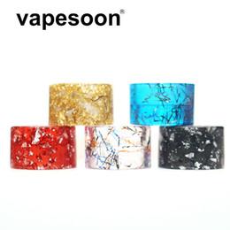 vaporizador protank rda Desconto VapeSoon001 Mais Recente Chegada TFV8 BEBÊ V2 TFV-MINI V2 Resina Drip Tip Fita Estilo Drip Tip Transporte Rápido