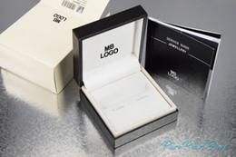 2020 gemello unico lusso mb uomini gemelli della camicia con la scatola di gioielli dal design unico di polsino collega regalo perfetto partita per i gemelli gemello unico economici