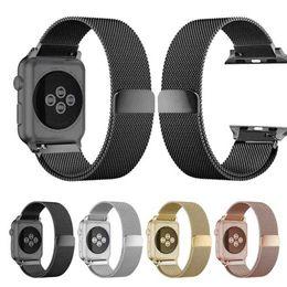 2019 dw strap Pulseira de relógio de aço para a apple watch banda cinta 42 44 38 40mm Milanese Loop Com Caso Protetora Pulseira Para iWatch Series 4 3 2