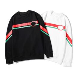 Белые блузки черные кресты онлайн-Дизайнер Марк Мужчина Woemens Толстовка Boy Girl моды крест Печатного Черный Белый M-2XL с длинным рукавом Блузки Толстовка высокого качество LSY98282
