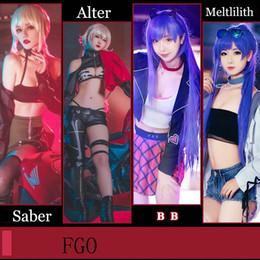 ordem cosplay Desconto Fgo destino / grand order namorada câncer de lua Jeanne d'Arc sabre preto Lilith BB Ishtar Ereshkigal alter traje cosplay